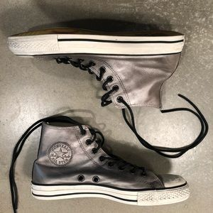 Converse leather high trainers John Varvat…